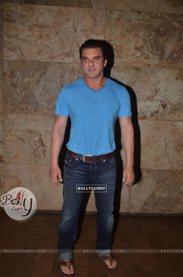 Sohail Khan at Special Screening of 'Freaky Ali'