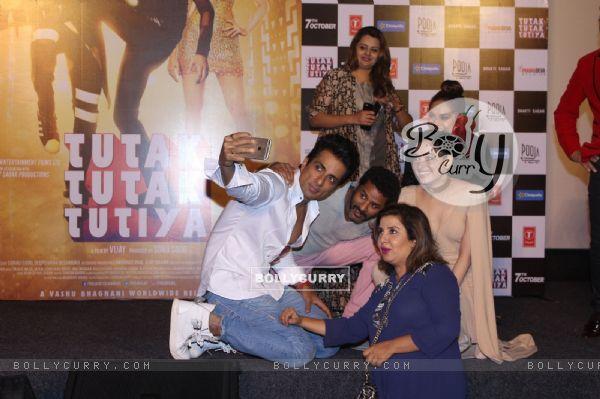 Celebs at Trailer Launch of 'Tutak Tutak Tutiya'