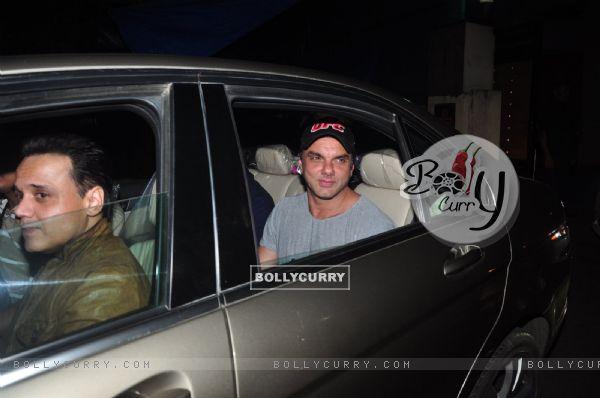Sohail Khan at Special screening of film 'Freaky Ali'