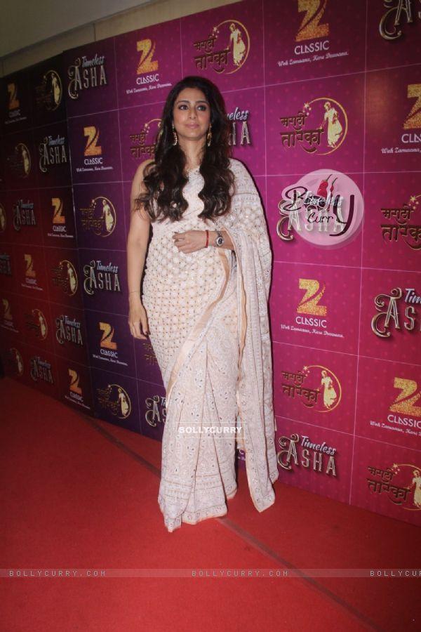 Tabu at Birthday Bash of Asha Bhosle