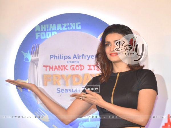 Prachi Desai at launch of Thank God It's Fryday