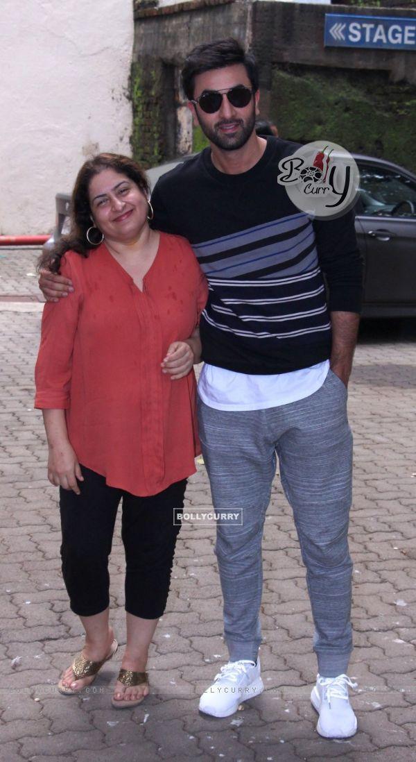 Ranbir Kapoor Snapped