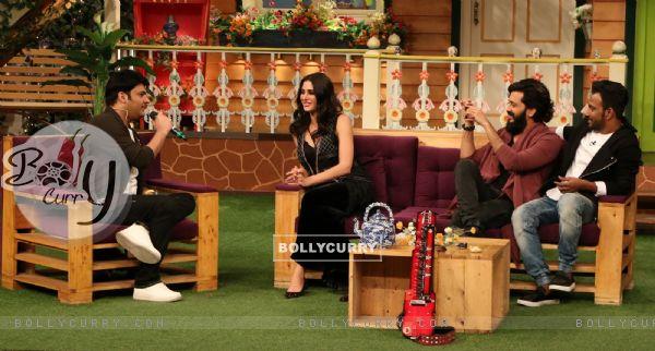Celebs at Promotion of 'Banjo' on Sets of The Kapil Sharma Show