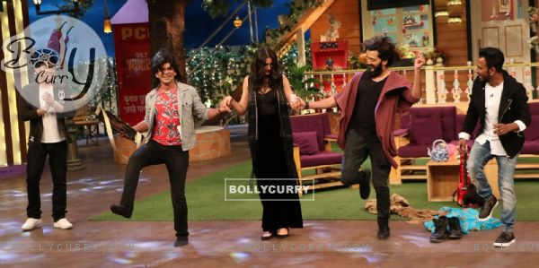 Celebs at Promotion of 'Banjo' on Sets of The Kapil Sharma Show