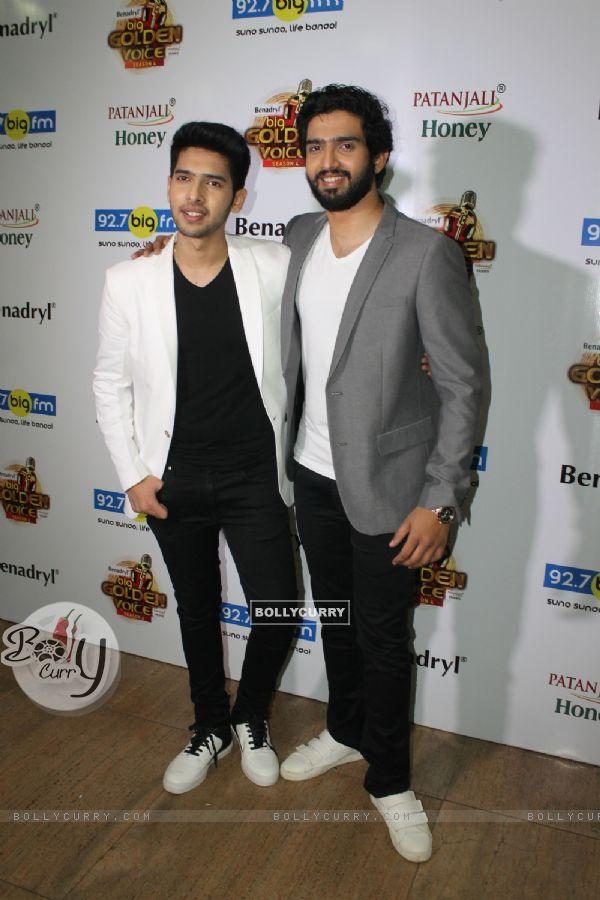 Armaan Malik with brother Amaal Malik