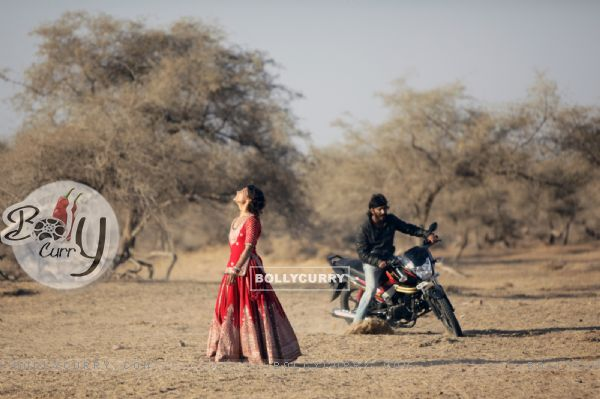 Harshvardhan learns wheelies for Mirzya