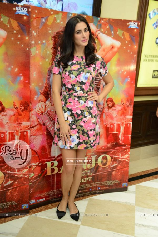 Nargis Fakhri at Press meet of 'Banjo' in Delhi (420781)