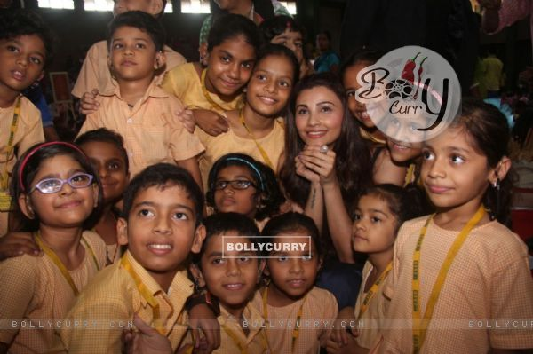 Daily Shah spends time with differently abled kids on World Deaf day