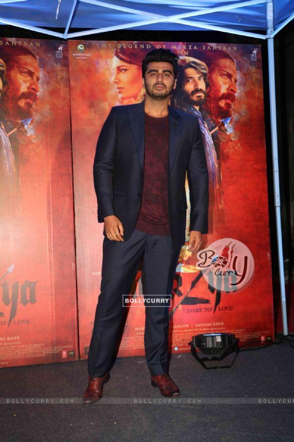 Arjun Kapoor at Promotion of film 'Mirzya'