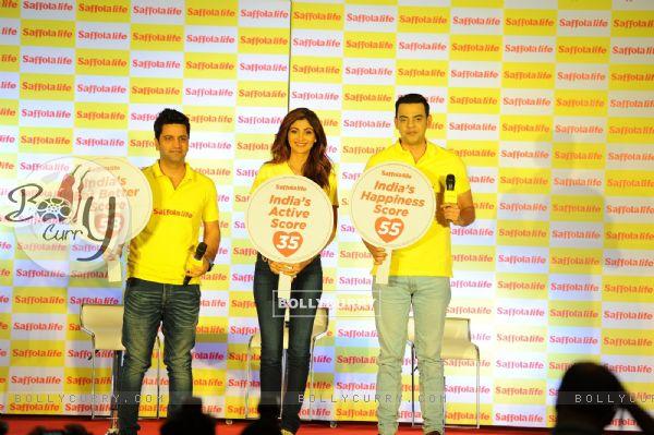 Shilpa Shetty, Kunal Kapur and Cyrus Sahukar along with Saffolalife urge people to take #ChhoteKadam