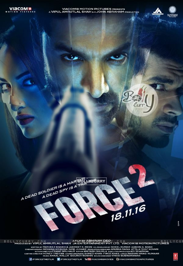 Force 2 starring Anushka Sharma, Tahir Bhasin and John Abraham