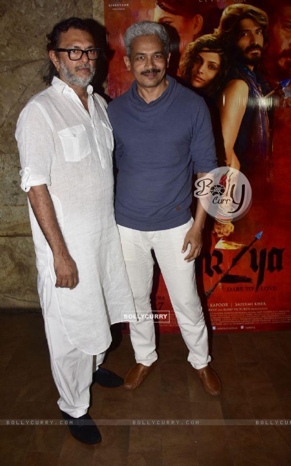 Rakeysh Omprakash Mehra and Atul Kulkarni at Special screening of film 'Mirzya'