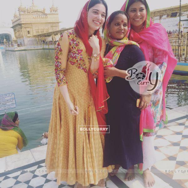 Tamannaah BhatiaTamannaah Bhatia visits Golden Temple, Amritsar