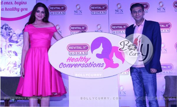 Sonali Bendre at Revital H Woman's 'Healthy Conversations' campaign launch