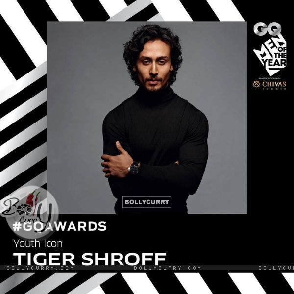 Tiger Shroff, Youth Icon of the Year