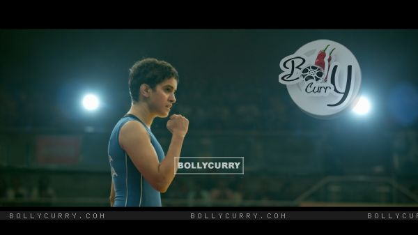 Still of Sanya Malhotra as Babita Phogat from Dangal (423313)