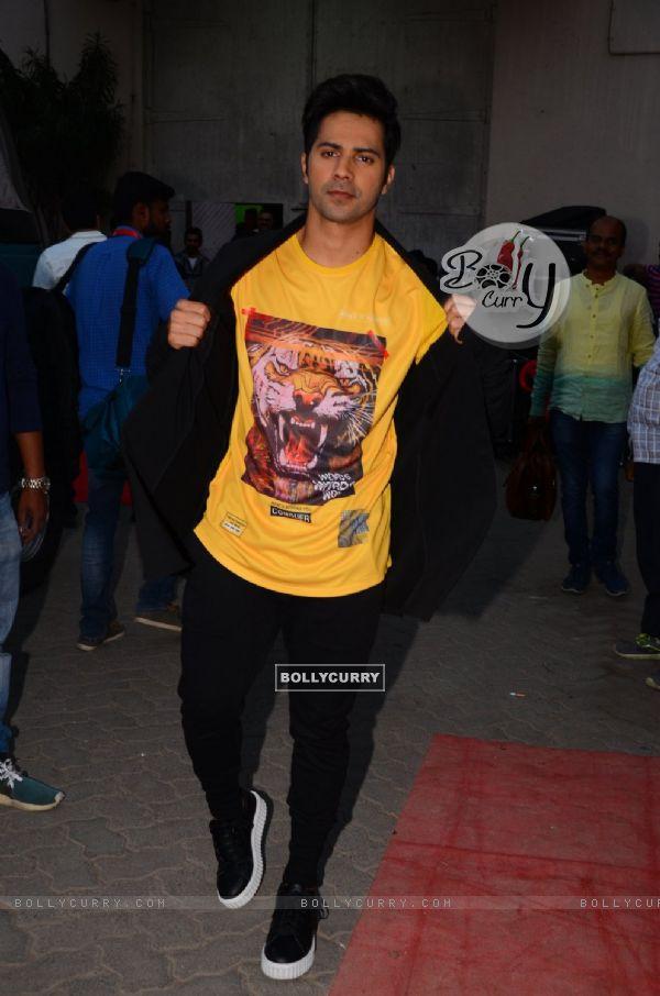 Varun Dhawan Snapped at Mehboob Studio