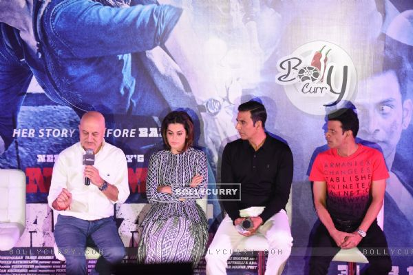 Press Meet of Naam Shabana