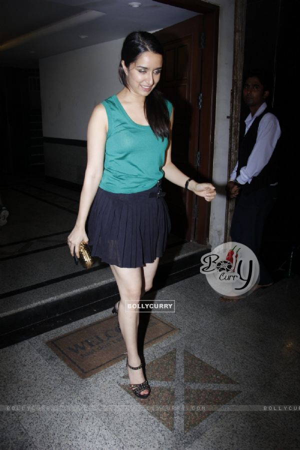 Shraddha Kapoor at Mohit Suri's Bash!
