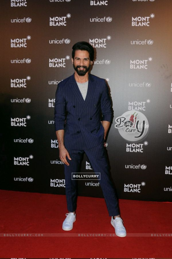 Shahid Kapoor at Mont Blanc Event!