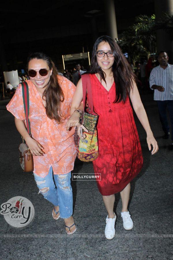 Shraddha Kapoor snapped at airport