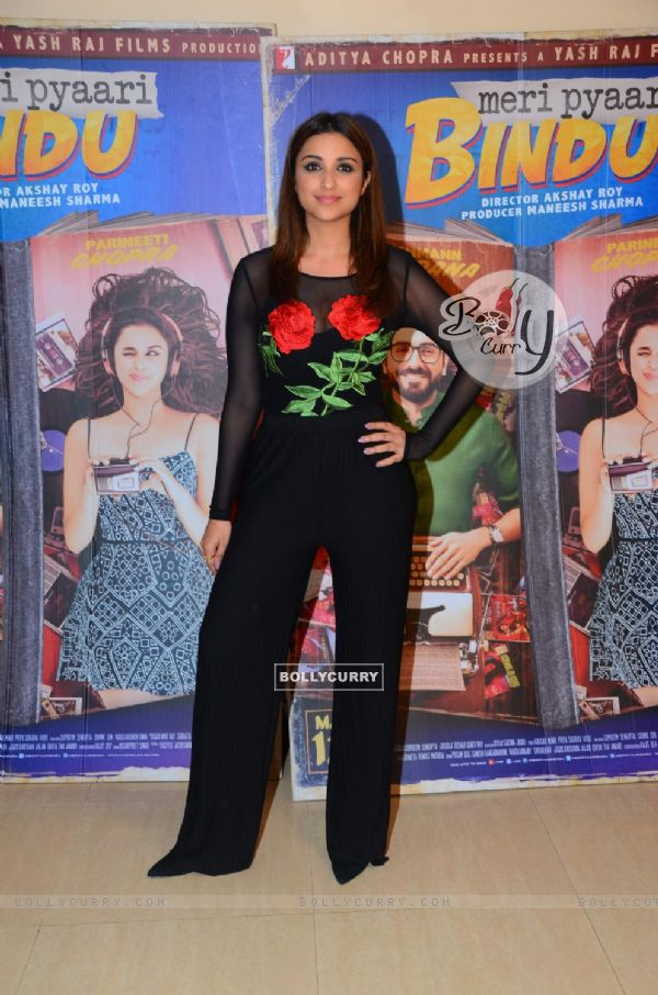 Parineeti Chopra promotes 'Meri Pyaari Bindu' (428508)