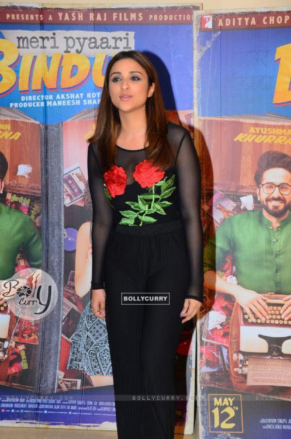 Parineeti Chopra promotes 'Meri Pyaari Bindu' (428509)