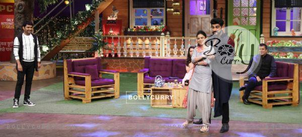 Arjun Kapoor on sets of the 'The Kapil Sharma Show'