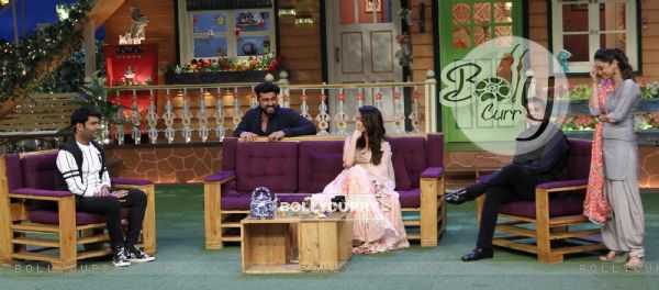 Arjun Kapoor, Shraddha Kapoor and Chetan Bhagat Promotes 'Half Girlfriend' on The Kapil Sharma Show