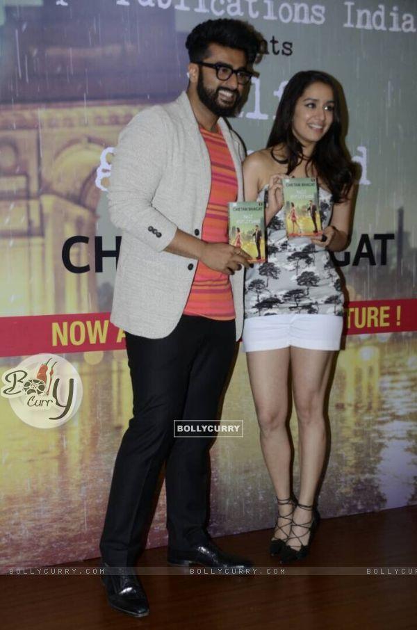Arjun Kapoor and Shraddha Kapoor Promotes 'Half Girlfriend' (428594)
