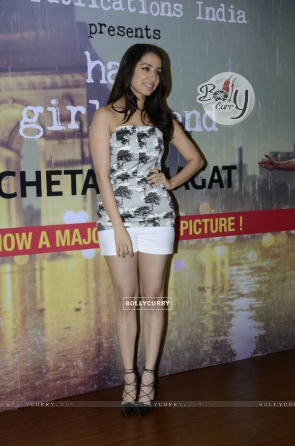 Shraddha Kapoor Promotes 'Half Girlfriend' (428595)