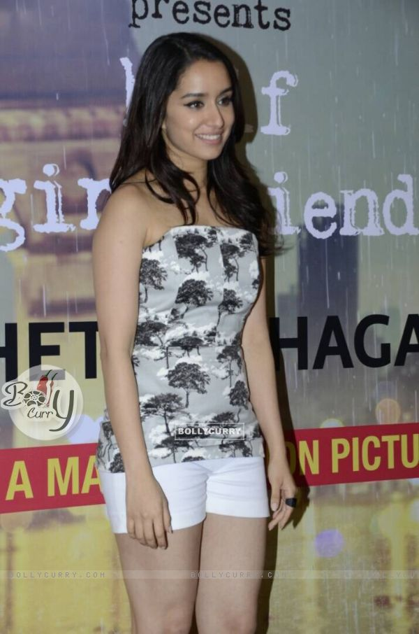 Shraddha Kapoor Promotes 'Half Girlfriend'