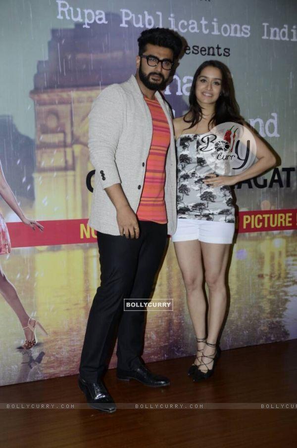 Arjun Kapoor and Shraddha Kapoor Promotes 'Half Girlfriend' (428597)