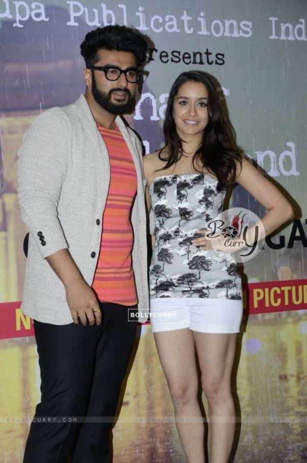 Arjun Kapoor and Shraddha Kapoor Promotes 'Half Girlfriend' (428600)