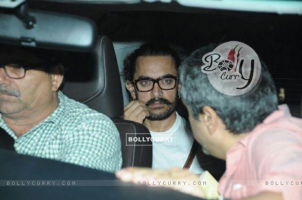 Aamir Kapoor plays with his mustache
