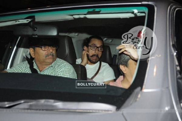 Aamir's funny candid