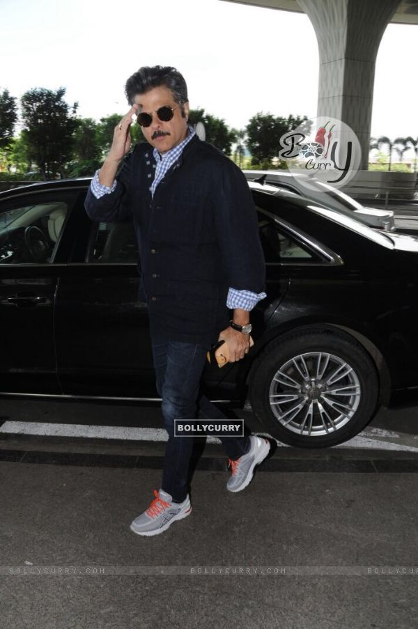 Aamir-Anil-Katrina snapped at the Airport