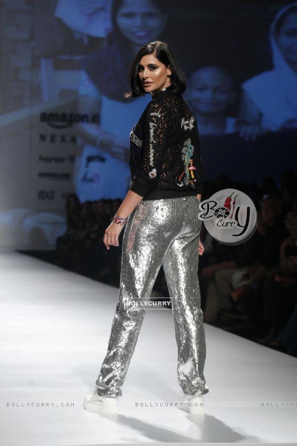Captivating Nargis Fakhri walks the ramp