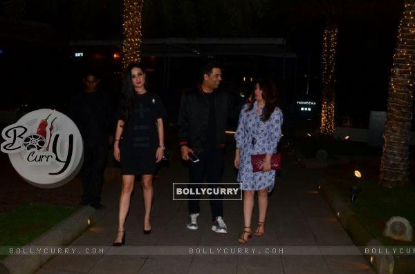 Karan Johar and Twinkle Khanna in a candid conversation