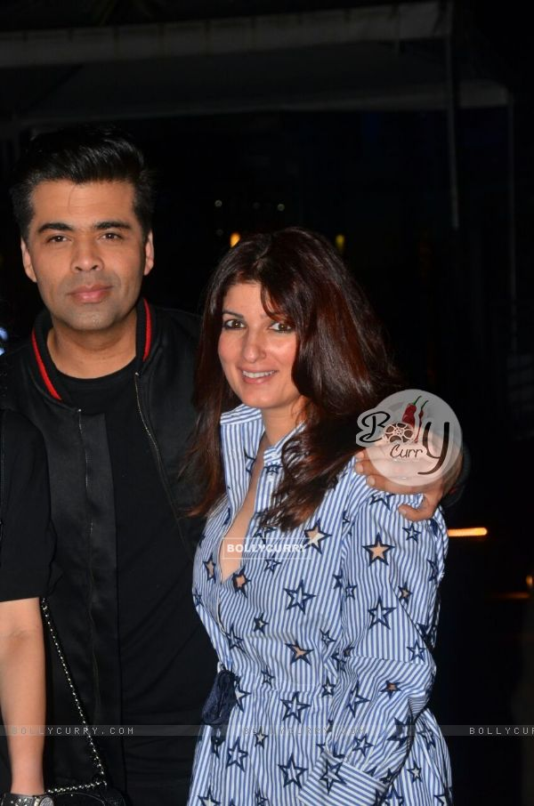 Picture Perfect of Karan Johar and Twinkle Khanna