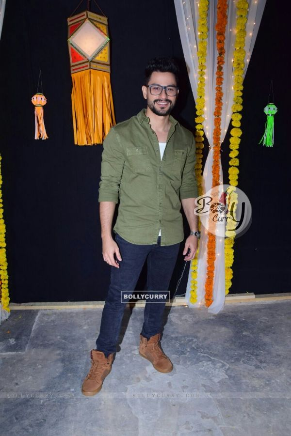 Kunal poses for the camera's