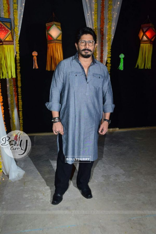 Arshad Warsi captured during the shoot