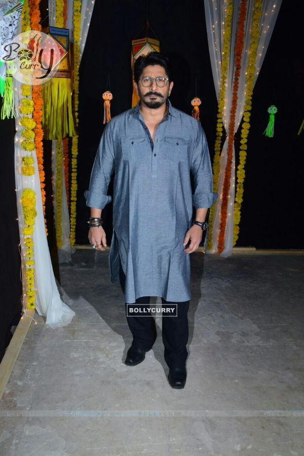 Arshad Warsi at the Diwali shoot