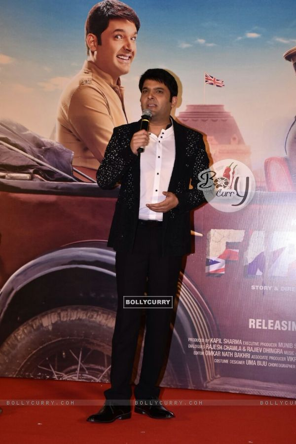 Kapil Sharma at the trailer launch of FIRANGI