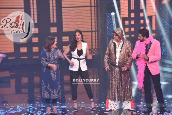 Abhishek Bachchan - Katrina Kaif at Lip Sinc Battle