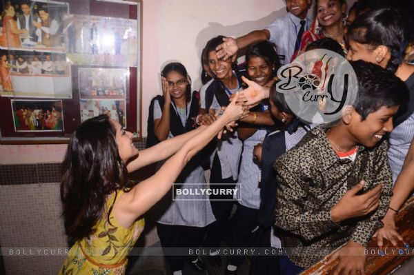 The cheerful Shraddha Kapoor