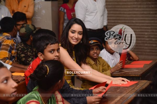 Shraddha Kapoor involves in some activities
