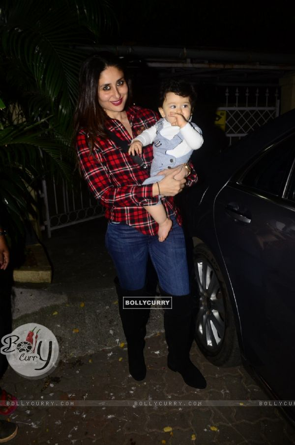 Kareena's striking picture with her son