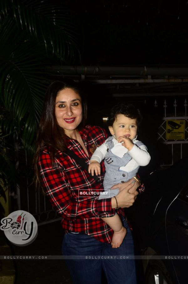 Begum with the Prince: Kareena and Taimur