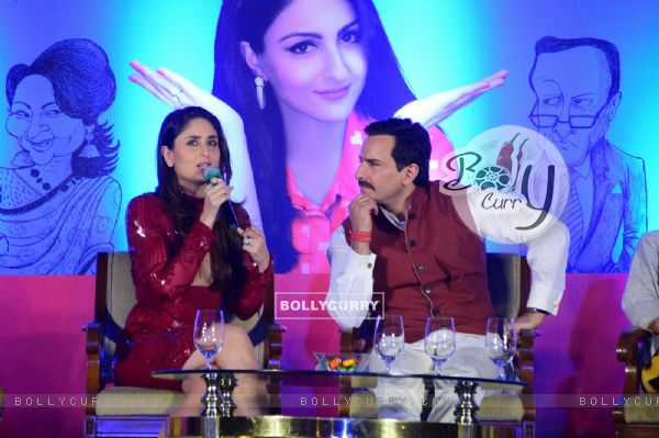 Saif has all his attention on Kareena